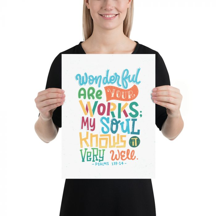 Wonderful are your works