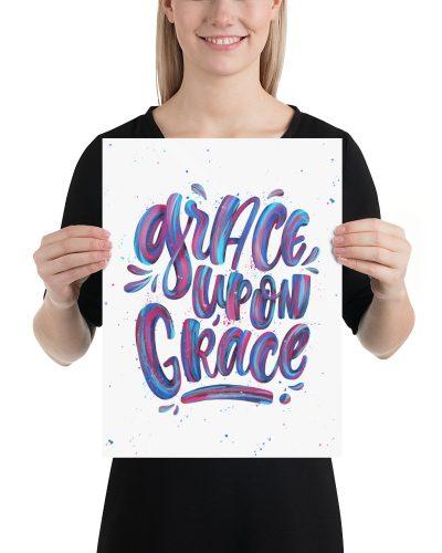 grace upon grace lettering