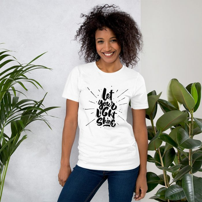 Let Your Light Shine tee